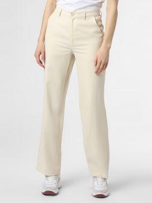 Beżowe spodnie Mbym