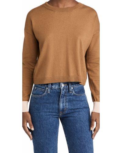 Открытый кашемировый длинный свитер с открытой спиной Marni
