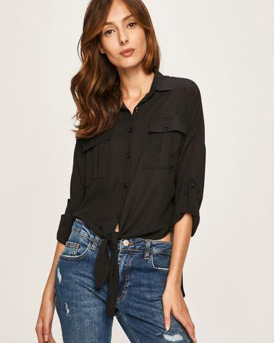 Блузка с длинным рукавом однотонная классическая Answear
