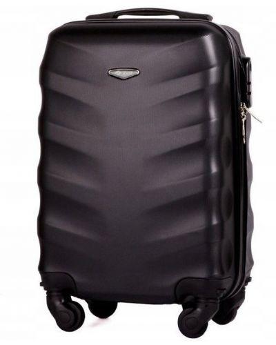 Czarna walizka oversize Solier