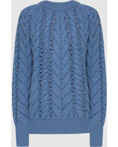 Кашемировый свитер - голубой Brunello Cucinelli