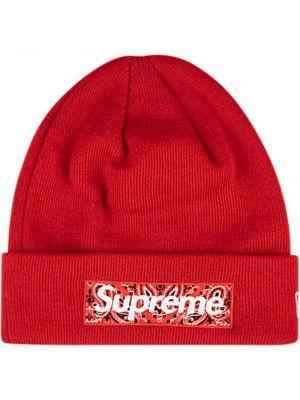 Ciepła czapka wełniana do pracy Supreme