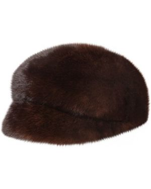 Brązowy kapelusz Simonetta Ravizza