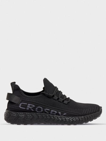 Текстильные кроссовки - черные Crosby
