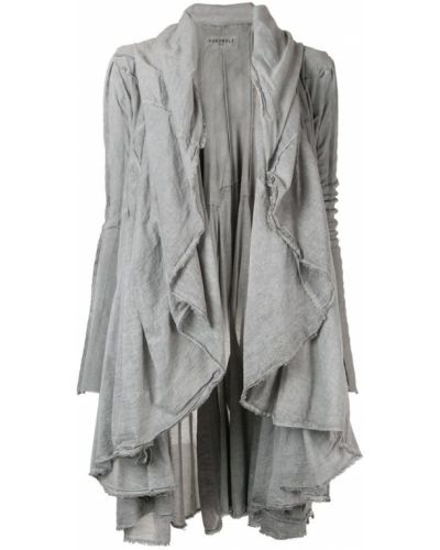 Длинная куртка - серая Rundholz