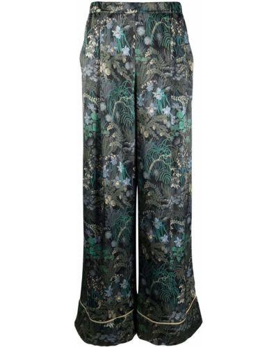 Шелковые брюки - черные Carine Gilson