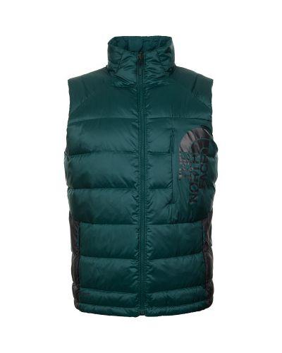Зеленый жилет пуховый The North Face