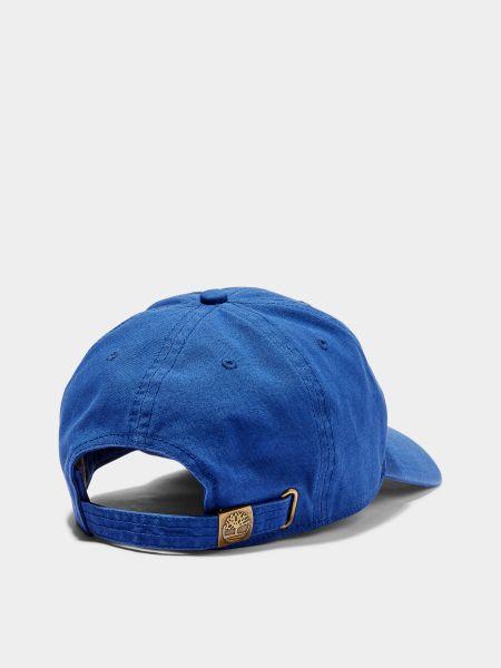 Синяя кепка Timberland