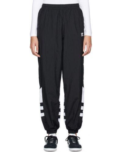 Спортивные брюки с карманами черные Adidas Originals