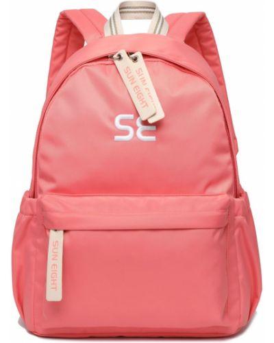 Мягкий оранжевый школьный рюкзак для ноутбука Sun Eight
