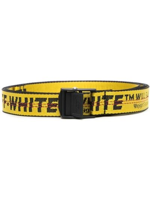 Белый ремень с пряжкой с поясом Off-white