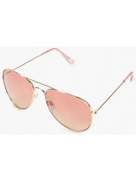 Муслиновые солнцезащитные очки золотые Dorothy Perkins
