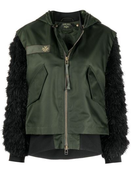 Куртка милитари - черная Mr & Mrs Italy