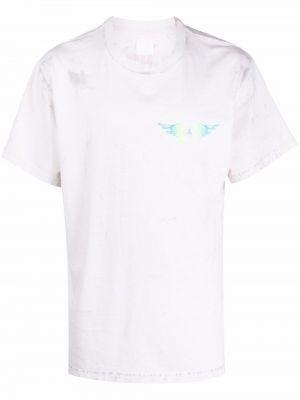 Biała t-shirt bawełniana Alchemist
