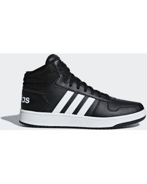 Спортивные баскетбольные черные высокие кроссовки сетчатые Adidas