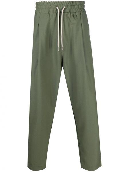 Spodnie khaki wełniane Drole De Monsieur