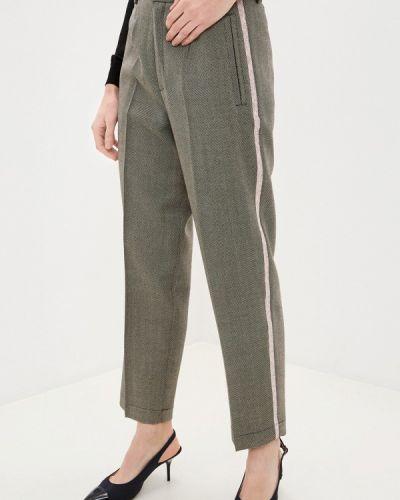 Классические брюки - бежевые Forte Forte