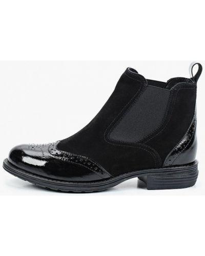 Черные ботинки челси осенние Francesco Donni