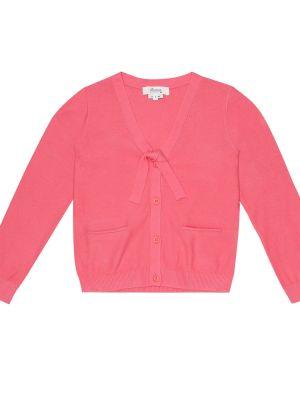 Розовый кардиган Bonpoint