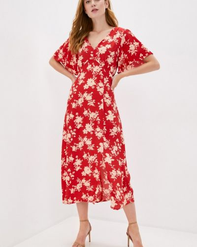 Повседневное красное повседневное платье Wallis