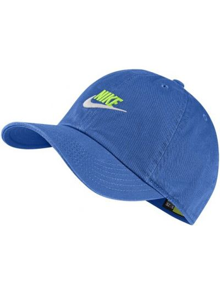 Klasyczna niebieska czapka bawełniana Nike