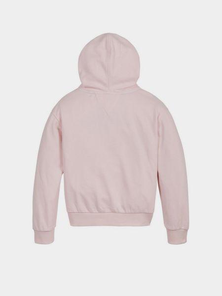 Розовое худи Tommy Hilfiger