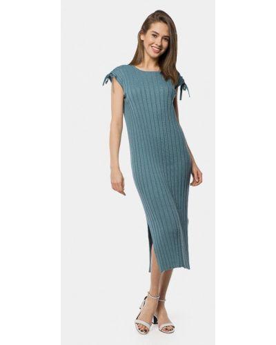 Платье весеннее бирюзовый Mr520