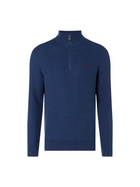 Sweter z kołnierzem z zamkiem błyskawicznym Polo Ralph Lauren