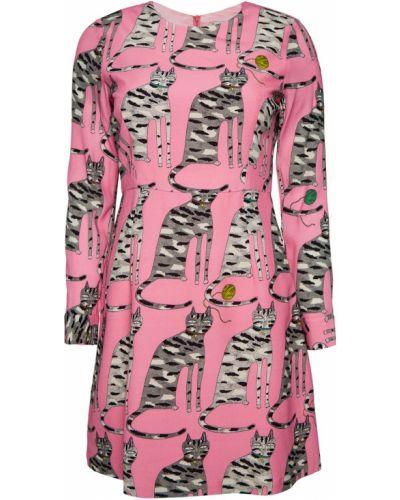 Платье макси длинное - розовое Paul & Joe Sister