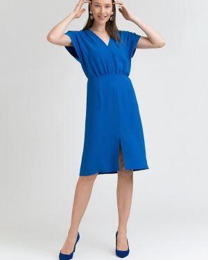 Повседневное платье мини - синее Emka