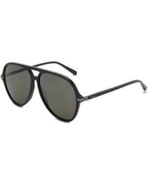Солнцезащитные очки черные Brioni