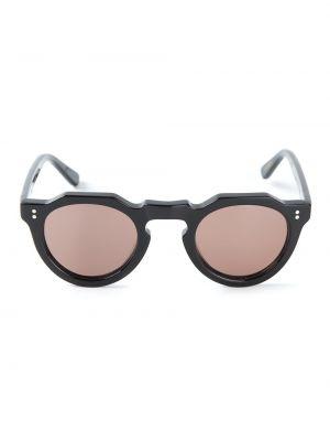 Czarne okulary Lesca