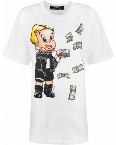 T-shirt oversize Domrebel