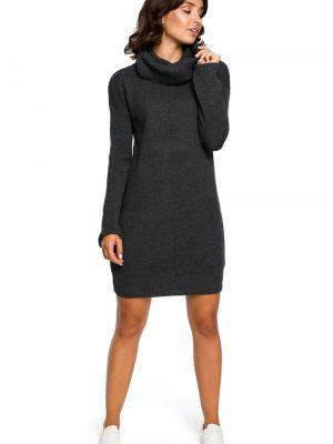 Szary pulower materiałowy Bewear