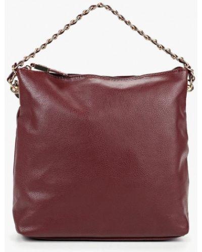 Кожаная сумка - бордовая Carpisa