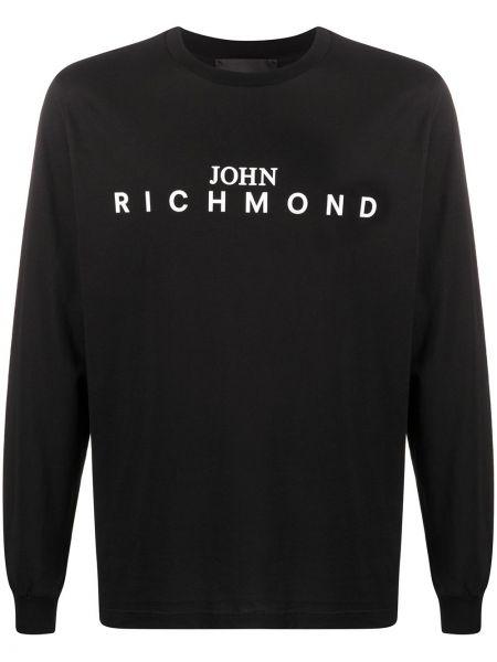 Koszula z długim rękawem z logo prosto John Richmond