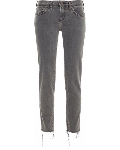 Szare jeansy bawełniane Simon Miller