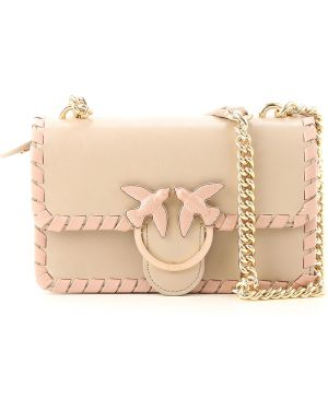 Skórzana torebka torba na torbę na ramię Pinko