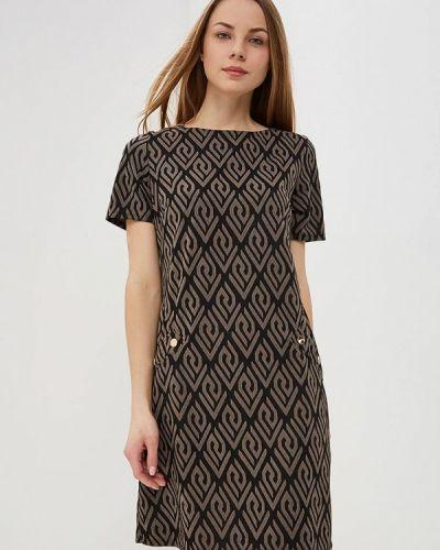 Повседневное платье весеннее черное Wallis