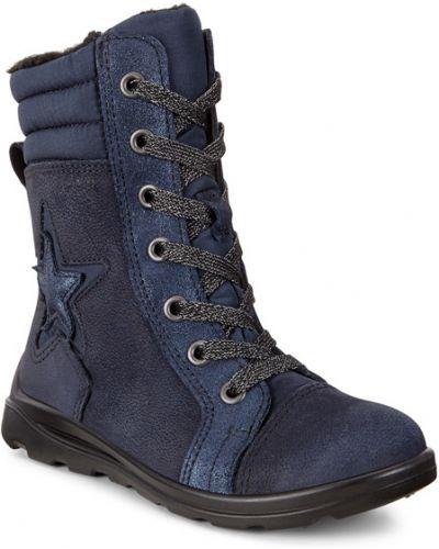 Ботинки на молнии мембранные Ecco