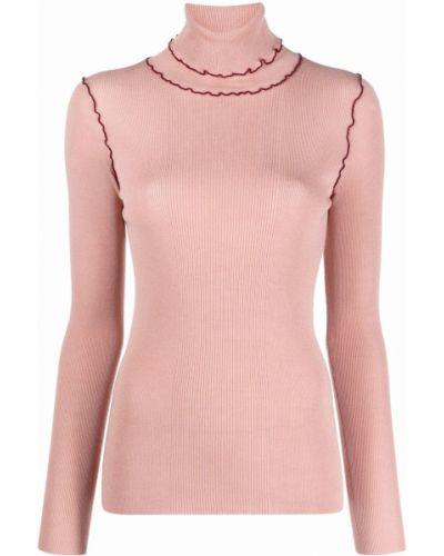 Розовый свитер длинный Ps Paul Smith