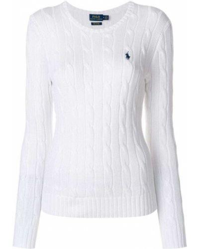Спортивный свитер в рубчик облегающий Polo Ralph Lauren