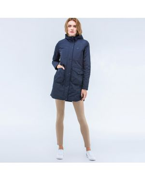 Куртка на молнии синий Lacoste