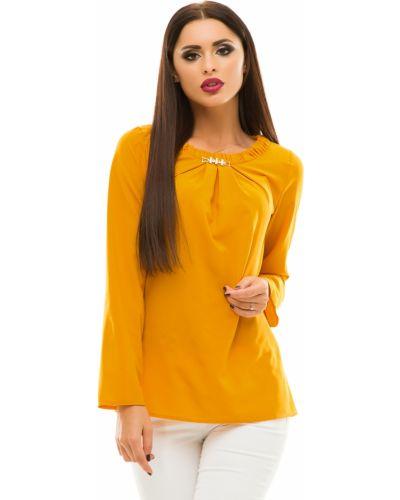 Блузка с длинным рукавом свободного кроя повседневная Lacywear