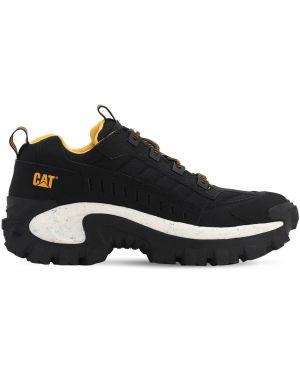 Треккинговые ботинки на шнуровке кожаные Caterpillar