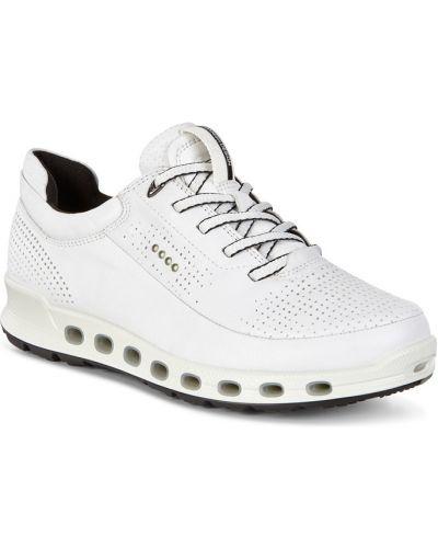 Кроссовки мембранные белый Ecco