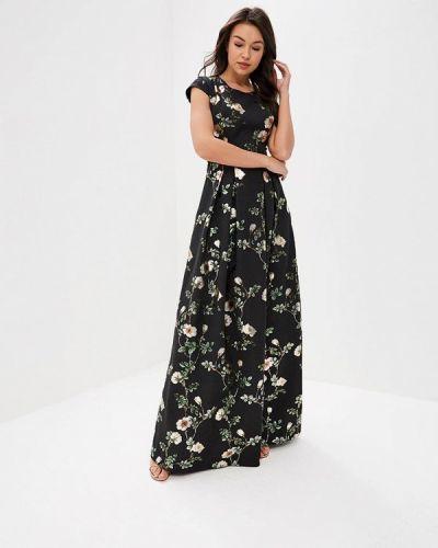 Платье осеннее черное Ksenia Knyazeva