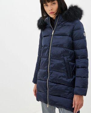 Теплая синяя куртка Madzerini