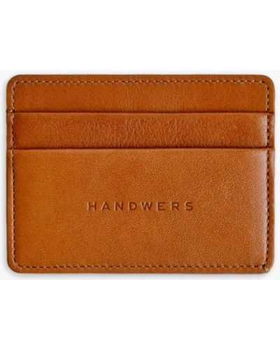 Визитница коричневый Handwers