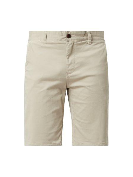Bawełna bawełna dżinsowe szorty z kieszeniami z zamkiem błyskawicznym Tommy Jeans